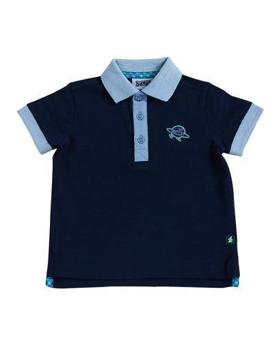 Nachtblauwe polo